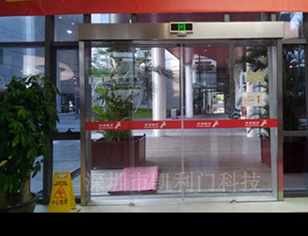 深圳玻璃感应门